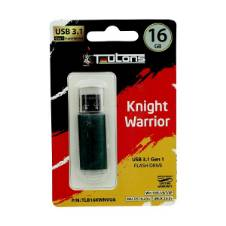 TEUTONS KNIGHT WARRIOR Pendrive 16GB - OLIVE GREEN