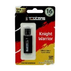 TEUTONS KNIGHT WARRIOR 16GB Pen drive - GREY