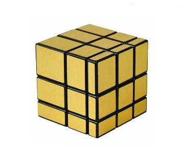 Mirror Cube 3x3 Silver and Golden (1 pc)
