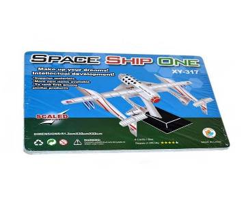 Super 3D Puzzle Space Ship One XY 317