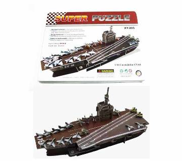 Super 3D Puzzle USS Constellation CV-64 XY 205