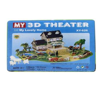 Super 3D Puzzle Lovely Home 3D Theater XY 626