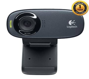 Logitech Webcam C310 - HD 720p - Black