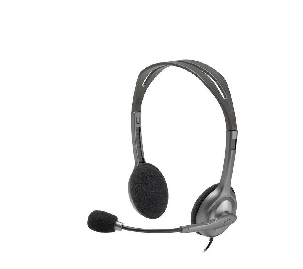 H110 স্টেরিও হেডসেট - ব্ল্যাক বাংলাদেশ - 803407