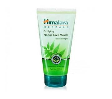 Himalaya neem face wash 100ml - India