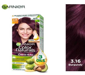 Garnier Color Naturals Shade 1 (Burgendy) - 70ml + 40g  India