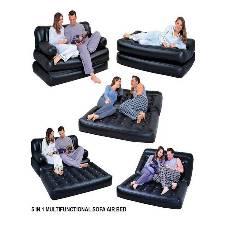 5 in 1 Inflatable Sofa Cum Bed