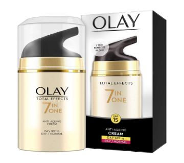 Olay Total Effects 7 in One Day/Normal Anti-Ageing Cream 50g (India).