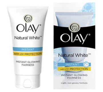 Olay Natural White Instant Glowing Fairness Cream 40g (India).