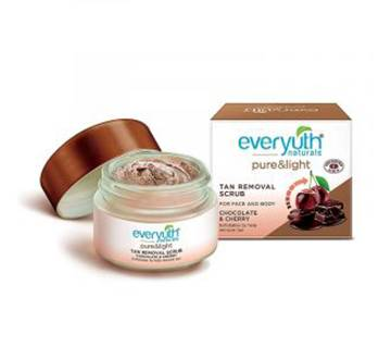 everyuth naturals pure & light tan removal scrub 50g (India).