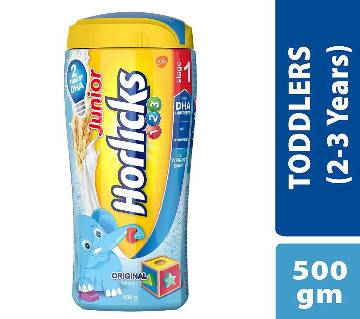 Junior Horlicks Stage 1 Health & Nutrition drink -500gm-India