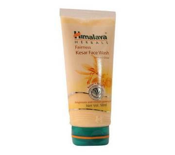 Himalaya Fairness Kesar Face Wash 100ml (Instant Glow). - India