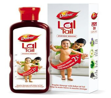 Dabur Medicated Lal Tail for your baby & you 200ml. - India