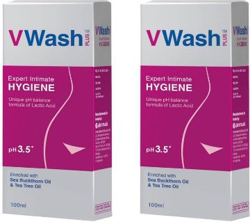 VWASH PLUS 100ml  -India