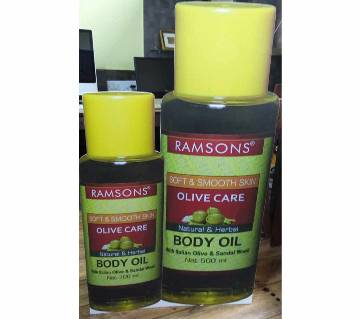 RAMSONS olive care body oil - 300ml - India