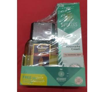 New bajaj Antimarks ayurvedic cream free bajaj almond oil 25g (India).