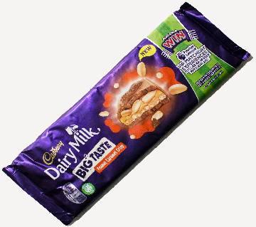 Cadbury Dairy Milk Big Taste Peanut Caramel Crisp চকোলেট 278g UK