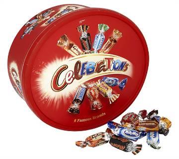 Celebration চকলেট ট্যাব 650g UK