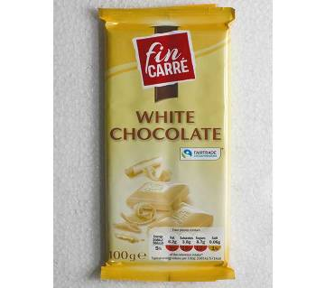 Fin carre White চকলেট GERMANY 100g