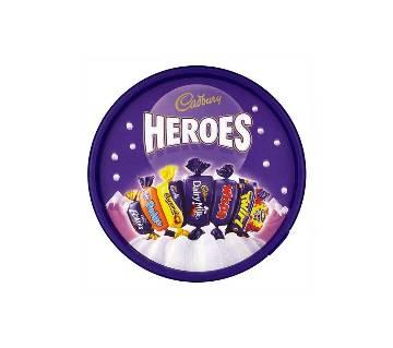 Cadbury Heroes চকলেট ট্যাব 650g UK
