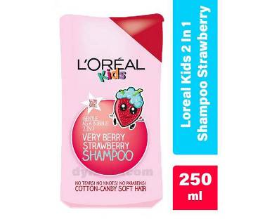 Loreal কিডস ২ ইন ১ শ্যাম্পু Strawberry 250ml UK