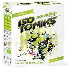 ISOTONIKS Instant Drink Powder - Lemon Flavor