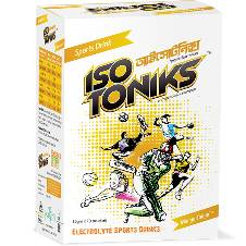 ISOTONIKS Instant Drink Powder - Mango Flavor
