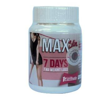 Max Slim 7 Days স্লিমিং ক্যাপসুল - 30 Tablets - Thailand