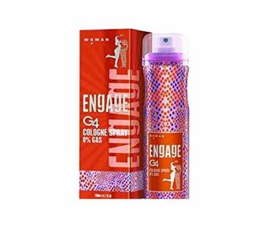 Engage Cologne G4 বডি স্প্রে ফর ওমেন - 160ml - India