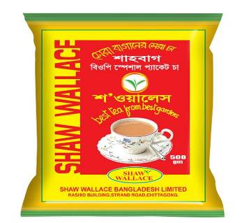 Shaw Wallace Shahbag Tea BOP SPECIAL 500 gm Combo of 2 packets