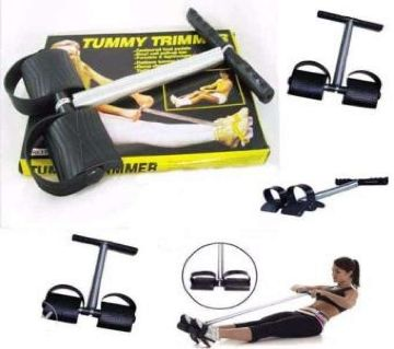 Tummy Trimmer Exercise Waist Body Shape Elastic Workout Fitness Equipment GYM