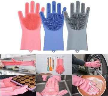 Silicon Magic Washing Gloves