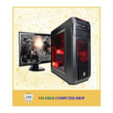 """Desktop CORE 2 DOU 250GB HDD 2GB RAM DDR2 With 17"""" LED Monitor"""