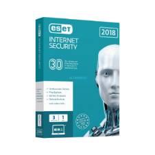 Eset Internet Security 3 PC 1 Year Licence AntiVirus