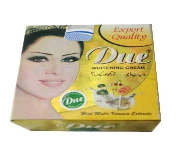 DUE হোয়াইটেনিং ক্রিম- ৪০ গ্রাম- পাকিস্তান