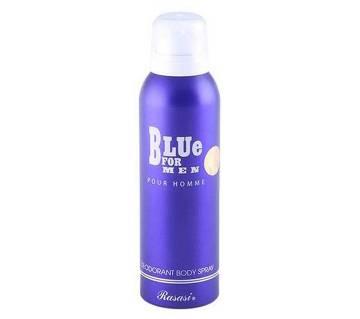 Rasasi Blue বডি স্প্রে ফর ম্যান 200ml U.A.E