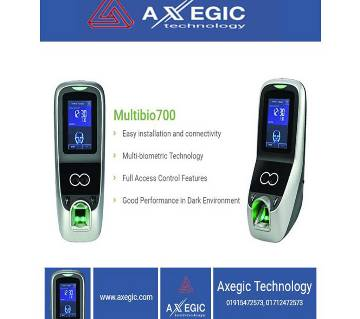 Multibio 700 Biometric Access Control Time Attendance