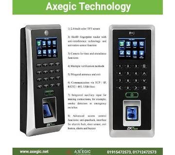 ZKTeco F21 Lite Time Attendance Access Control System