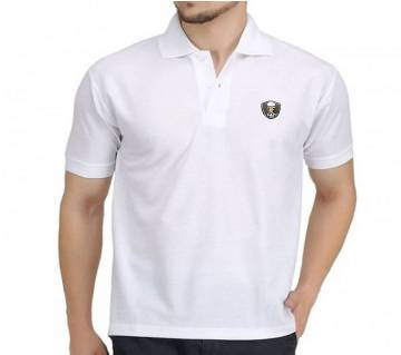Gents Solid Color Cotton Polo Shirt