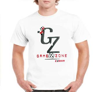 GAME ZONE-Gents Half sleeve cotton t-shirt