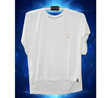 Ladies Half Sleeve Cotton T Shirt