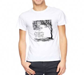 Signature Tree Gents Half-sleeve Cotton T-shirt