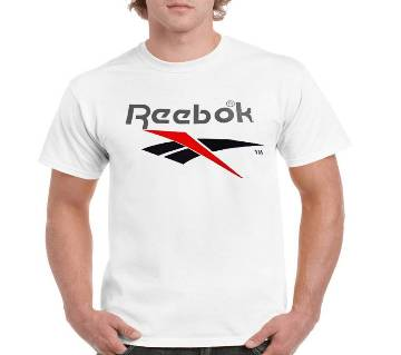 Gents Half Sleeve Cotton Reebok T-Shirt