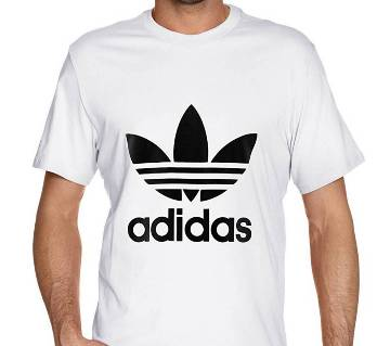 Gents Half Sleeve Cotton Adidas T-Shirt