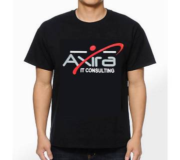 Gents Half Sleeve Cotton Axira T-Shirt