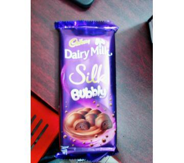 Dairy Milk Bubbly - 120 gm - India