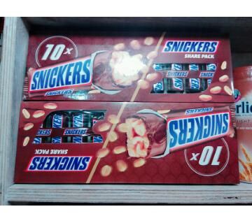 snickers - 10 pcs - 180gm