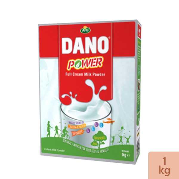 Dano Power Full Cream Instant Milk Powder Box 1 kg