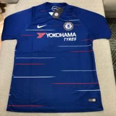 Chelsea Home kit 18-19 হাফ স্লিভ জার্সি (কপি)