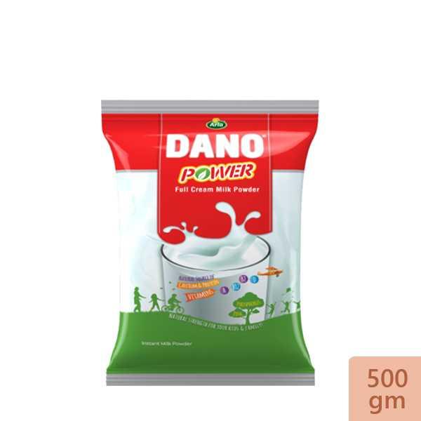 Dano Power Instant Full Cream Milk Powder 500 gm